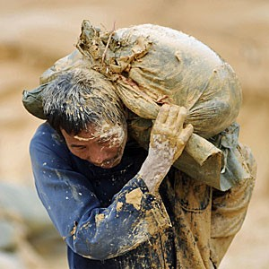 chinese worker in china