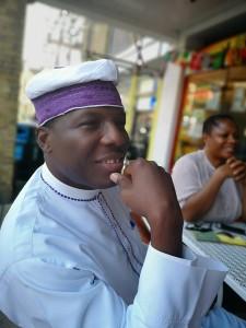 Oba Dokum Thomson (His Royal Majesty the Oloni of Eti-Oni, State of Osun, Nigeria